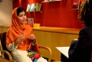 Malala Yousafzai 17 today, remains a compelling and irresistible voice for the rights of children and women. #IstandwithMalala