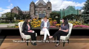 Watch a Feisty Discussion Regarding Sex Ed Curriculum on Chai With Molly TV. #ChatTalk #OntarioSexEd #OnPoli